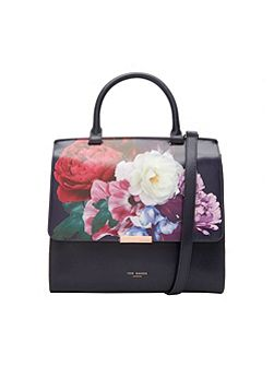 Arinna Blushing Bouquet leather bag
