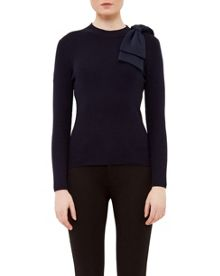 Ted Baker Nehru Bow Detail Jumper