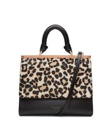 Ted Baker Lailii Leopard print leather bag