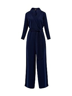Tierly Tailored wrap jumpsuit