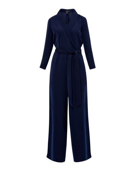 Ted Baker Tierly Tailored wrap jumpsuit