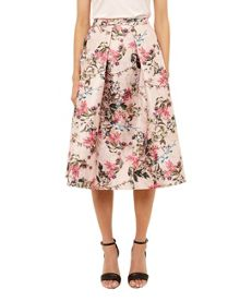 Ted Baker Jirily Blossom Jacquard Full Skirt