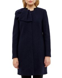Ted Baker Ellmida Boiled Wool Coat