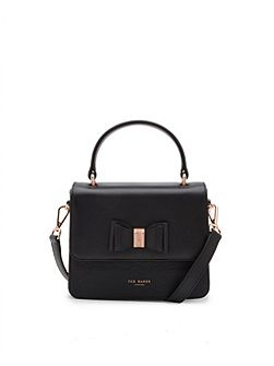 Calila Bow Leather Cross Body Bag
