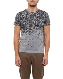 Ted Baker Fayded Graphic print cotton T-shirt