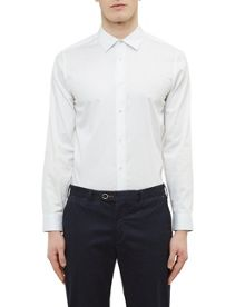 Ted Baker Raabin Satin Stretch Shirt