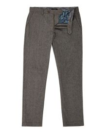 Ted Baker Classy Classic Fit Cotton Trousers