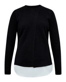 Ted Baker Denay Knitted Layered Jumper