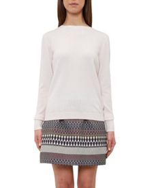 Ted Baker Ediani Bow back cashmere-blend jumper