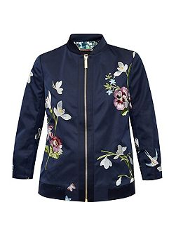 Bloomah Spring Meadows bomber jacket
