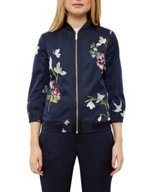 Ted Baker Bloomah Spring Meadows bomber jacket