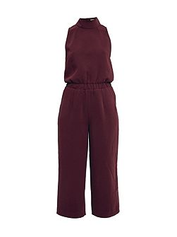 Annah High neck cullote jumpsuit
