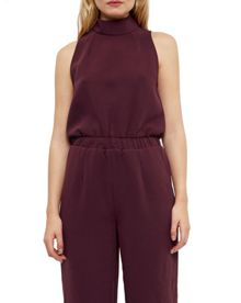 Ted Baker Annah High neck cullote jumpsuit