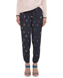Ted Baker Aleson Fly fish print joggers