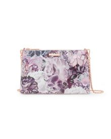 Ted Baker Jazzi Illuminated Bloom leather cross body bag