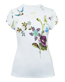Ted Baker Marliin Spring Meadows fitted T-shirt