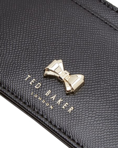 Ted Baker Satinii Leather Bow Coin Purse