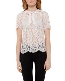 Ted Baker Von Bow detail lace top