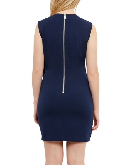 Ted Baker Burford Double layer embellished tunic dress