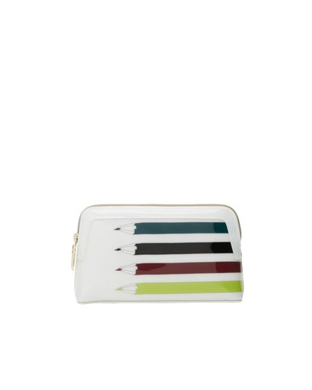 Ted Baker Hadia Pencil print small wash bag