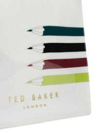 Ted Baker Aplcon Pencil print large icon shopper bag