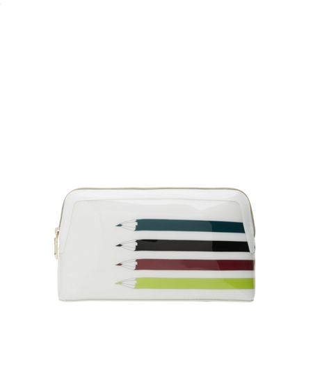 Ted Baker Glynia Pencil print large wash bag