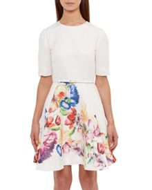 Ted Baker Frutti Tapestry Floral Full Dress