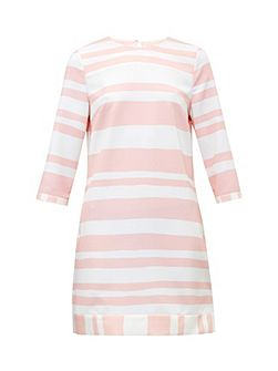 Jangle Two-tone striped tunic dress