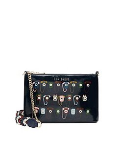 Euan Telephone print cross body bag