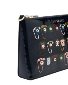 Ted Baker Euan Telephone print cross body bag