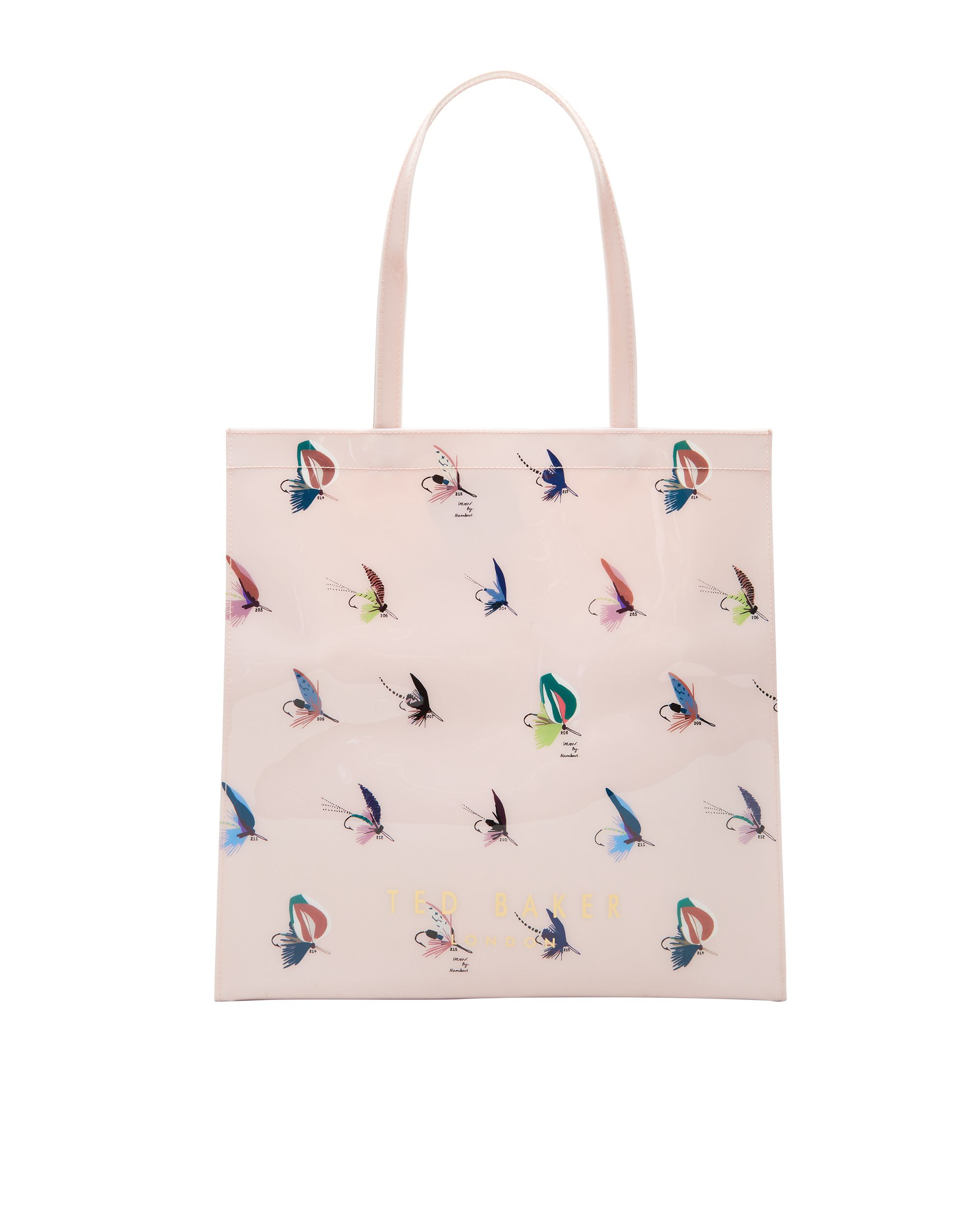 Ted Baker Talicon Fly fish shopper bag Pastel Pink