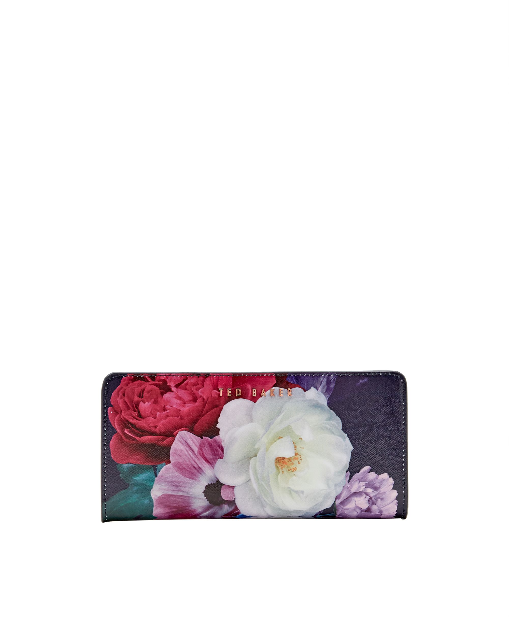 Ted Baker Darenio Blushing Bouquet matinee purse Navy