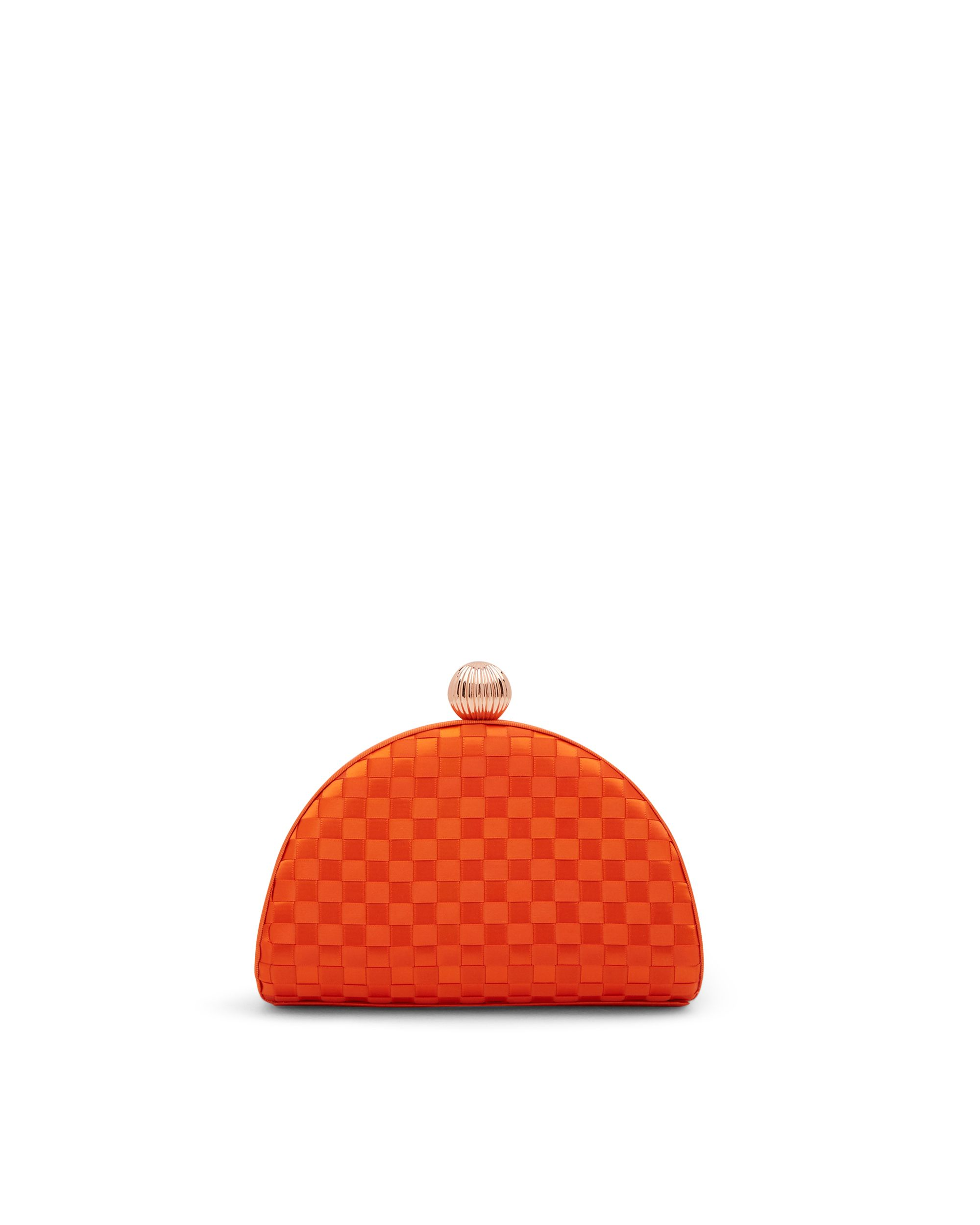 Ted Baker Kyla Woven clutch bag Red
