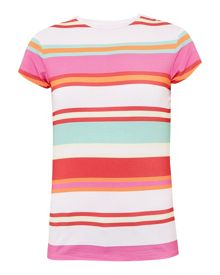 Ted Baker Cheral Striped fitted T-shirt