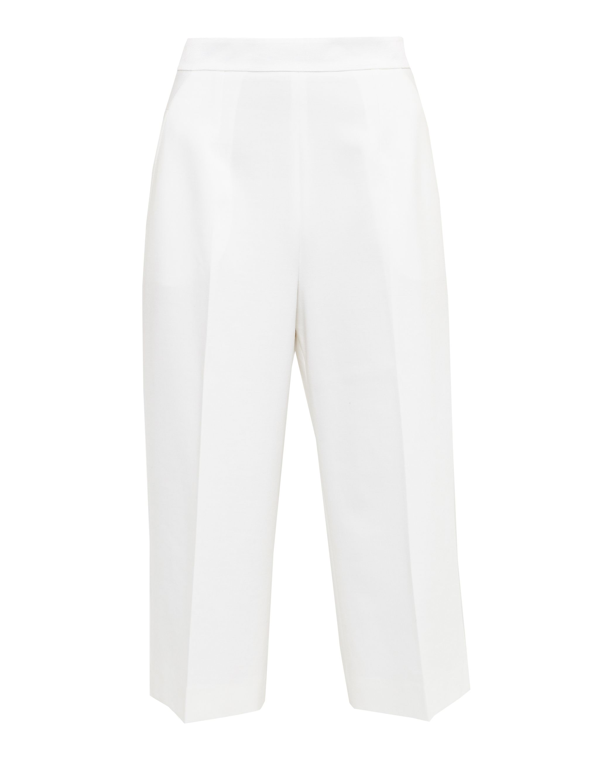 Ted Baker Orderat High Waisted Cullotes, White