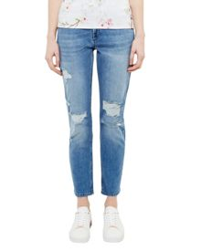 Ted Baker Chelseh Ripped Boyfriend Fit Jeans