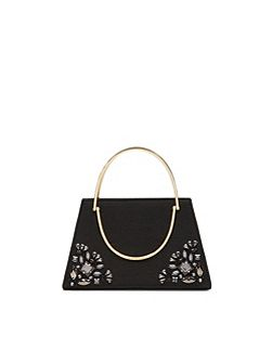 Jacki Embellished clutch bag
