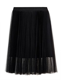 Filita Pleated Tulle Skirt
