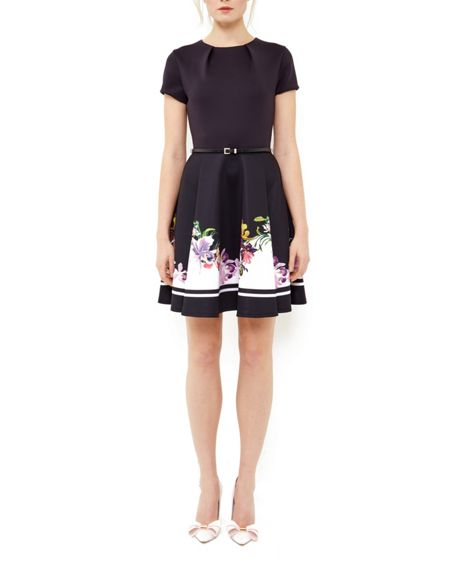 Ted Baker Milleh Lost Gardens skater dress