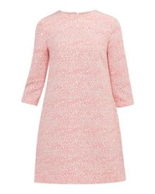 Ted Baker Jiggle Fish print shift dress