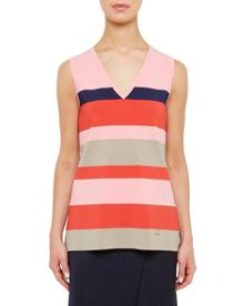 Ted Baker Nenti Colour-block knitted vest