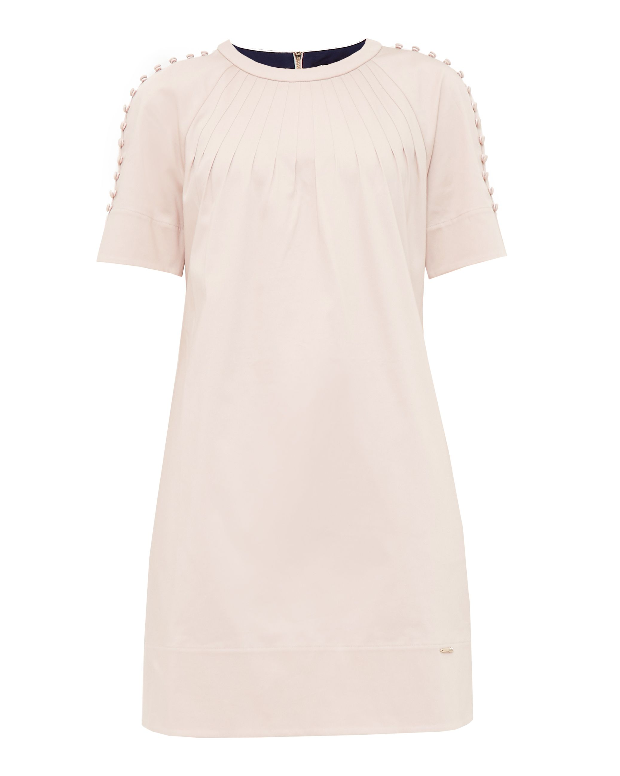 Ted Baker Charr Button Detail Dress, Pink