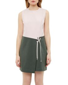 Ted Baker Mivis Crossover front shift dress