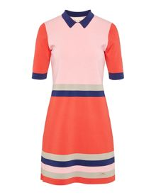 Ted Baker Origami Colour-block knitted dress
