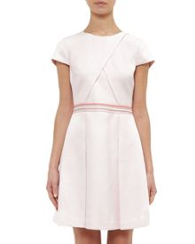 Ted Baker Heltty Colour block pleated dress