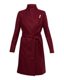 Ted Baker Fylio Magnetic Clasp Long Coat