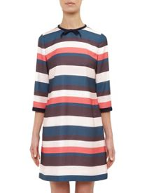 Ted Baker Yakira Striped colour-block dress