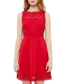 Ted Baker Verony Cut-Work Skater Dress