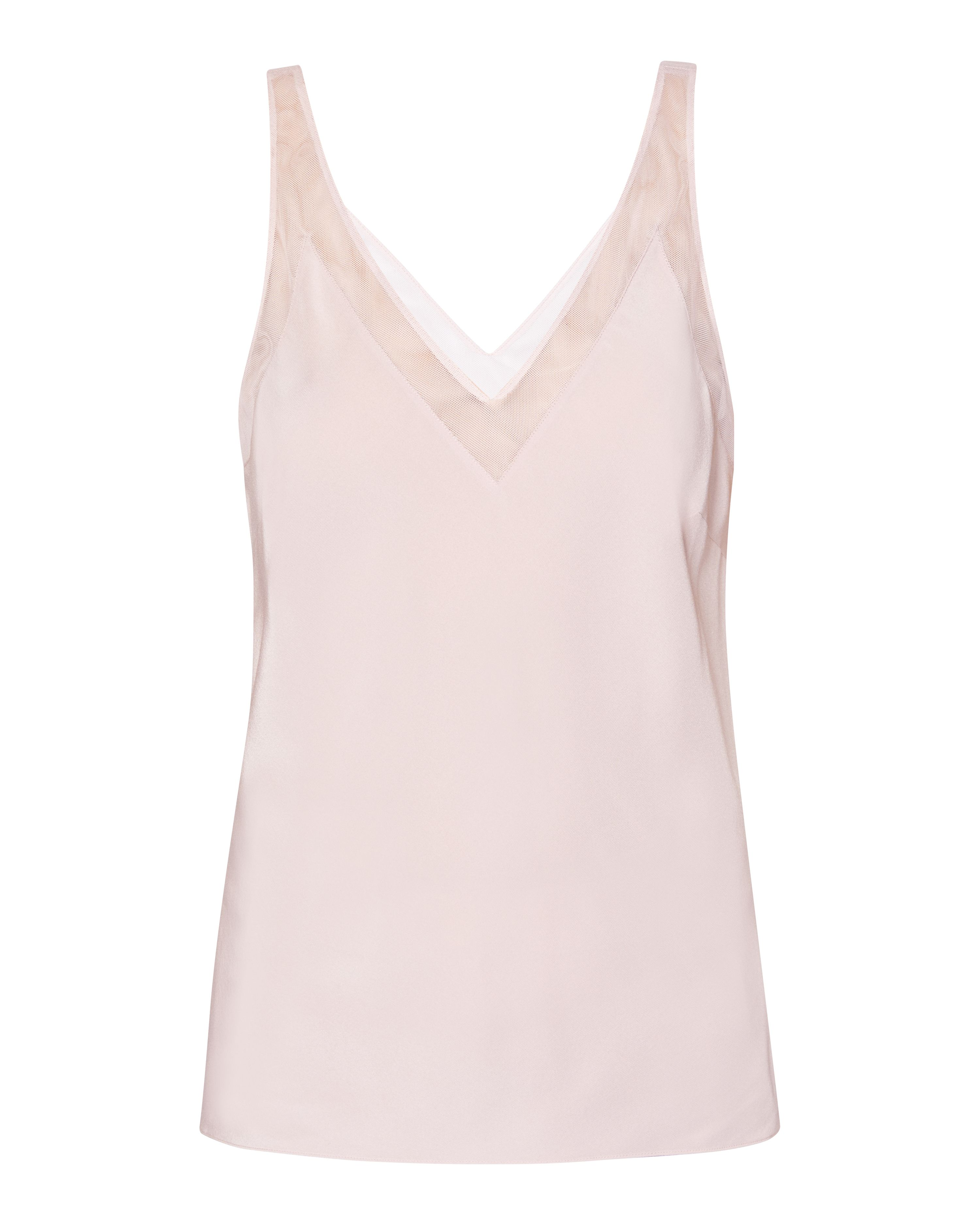 Ted Baker Leiaa V Neck Trim Cami, Light Pink