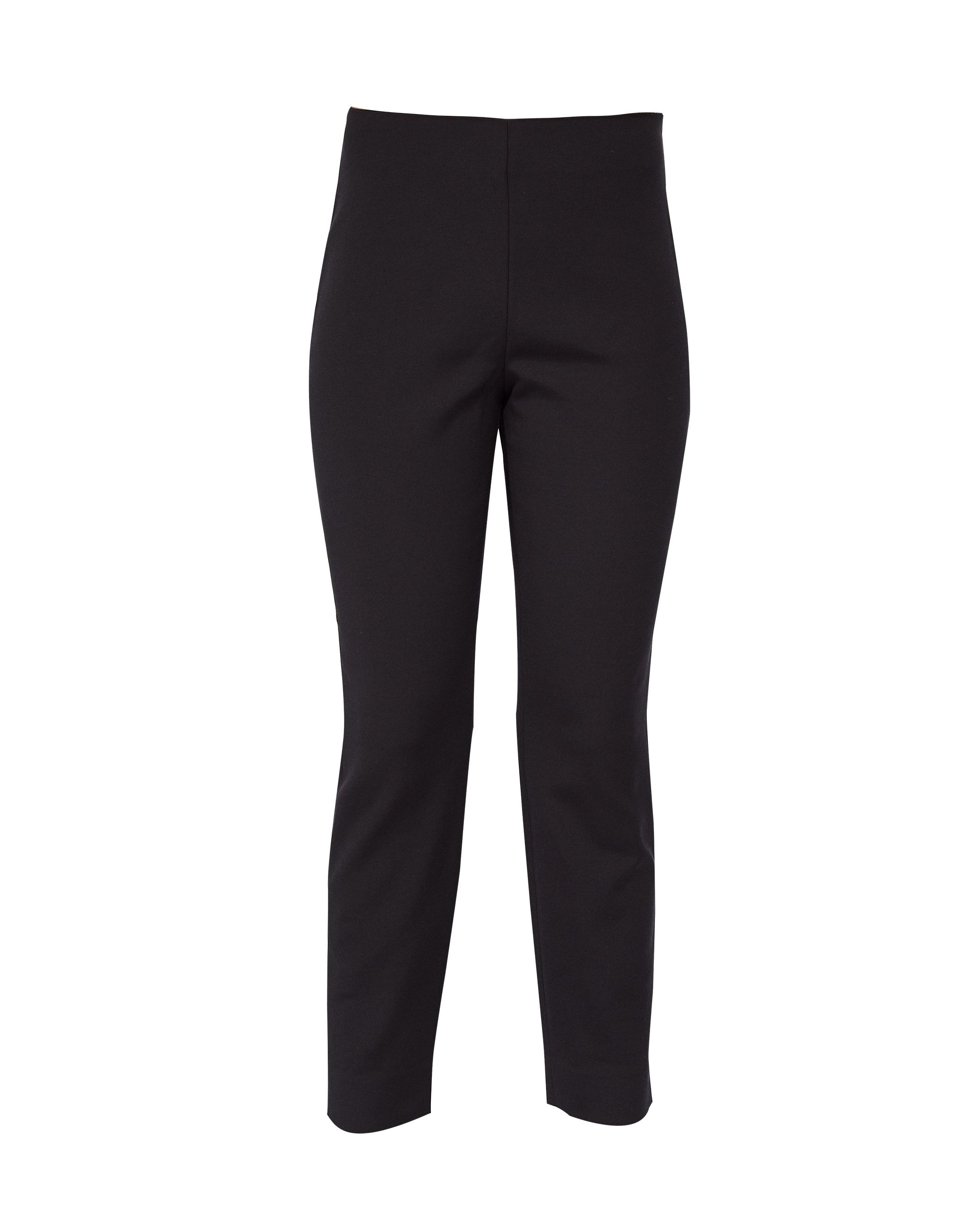 Ted Baker Rayalt Side Zip Skinny Trouser, Black